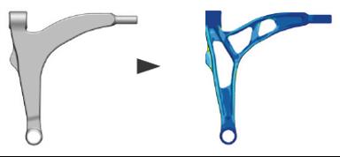 Optimized CAD Bracket
